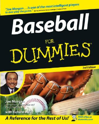 Baseball For Dummies, Morgan, Joe; Lally, Richard; Anderson, Sparky [Foreword]