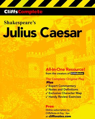 Cliffscomplete Julius Caesar, Cliffs Notes Staff/Shakespeare,William/ Sweeney,Diana