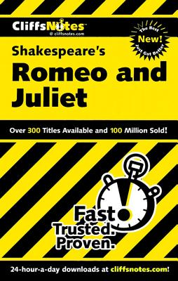 "CliffsNotes on Shakespeare's Romeo and Juliet (Cliffsnotes Literature), ""Connolly, Annaliese F"""