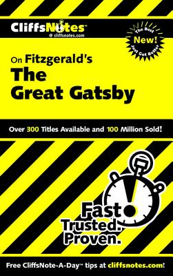 Image for Notes on Fitzgerald's Great Gatsby: Cliffsnotes Literature Guides