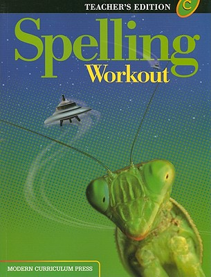 Image for Spelling Workout: Level C (Teacher's Edition)