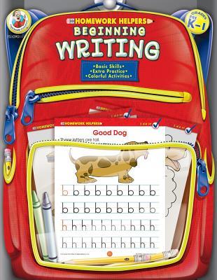 Image for Beginning Writing Homework Helper, Grades PreK to 1