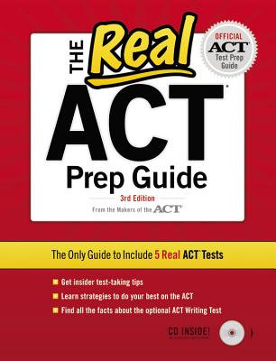 The Real ACT (CD) 3rd Edition (Real Act Prep Guide), Inc. ACT