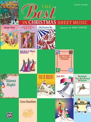The Best in Christmas Sheet Music, Coates, Dan [Composer]