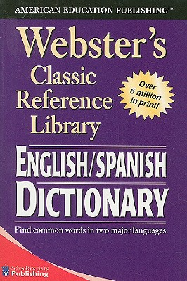 Image for Webster's English SPANISH Dictionary