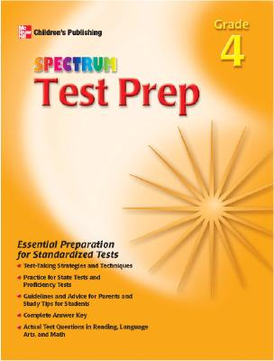 Image for Spectrum Test Prep, Grade 4