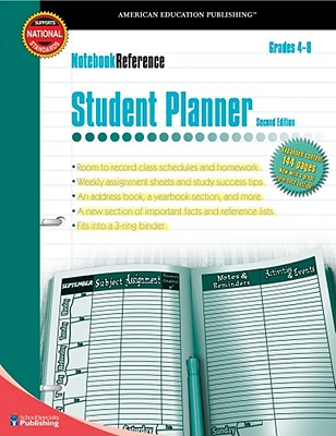 Image for Student Planner, Grades 4 - 8 (Notebook Reference)