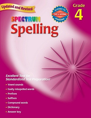 Image for Spelling, Grade 4 (Spectrum)