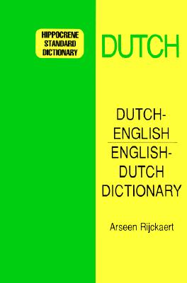 Image for Dutch-English/English-Dutch Standard Dictionary (Hippocrene Standard Dictionary) (Dutch Edition)