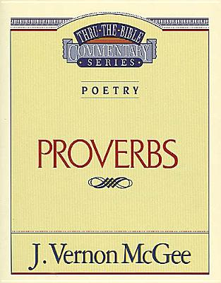 Image for Proverbs (Thru the Bible Commentary Series Volume 20)