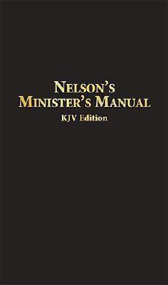 Image for Nelson's Minister's Manual KJV: Bonded Leather Edition