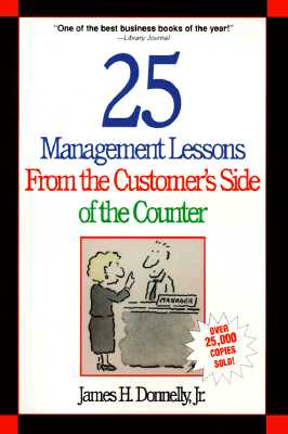 Image for 25 Management Lessons From the Customer's Side of the Counter