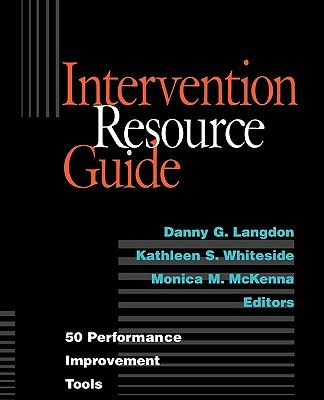 Intervention Resource Guide: 50 Performance Improvement Tools