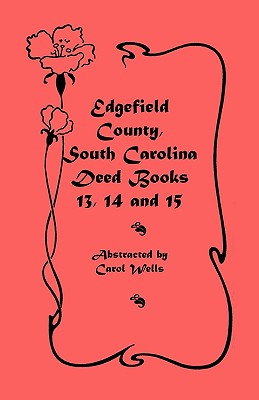 Image for Edgefield County, South Carolina: Deed Books 13, 14, 15