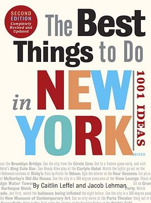 Image for The Best Things to Do in New York, Second Edition: 1001 Ideas