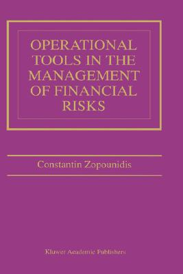 Image for Operational Tools in the Management of Financial Risks