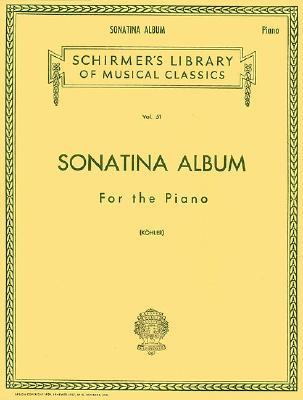 Sonatina Album: Piano Solo (Schirmer's Library of Musical Classics)