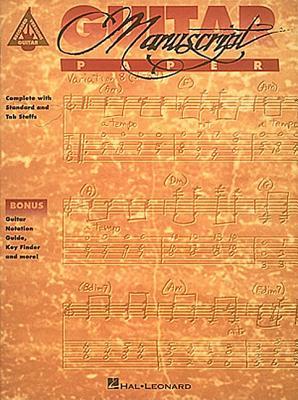 Image for Recorded Versions Guitar Tablature Manuscript Paper