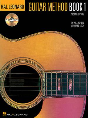 Hal Leonard Guitar Method Book 1:  Book/CD Pack, Schmid, Will; Koch, Greg