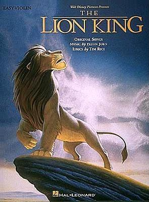 Image for LION KING EASY VIOLIN
