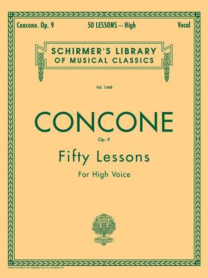 50 Lessons for High Voice, Op. 9