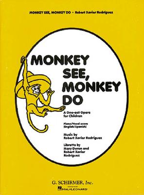 Image for Monkey See Monkey Do; a One-act Opera for Children
