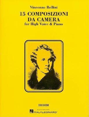 Image for 15 Composizioni da Camera: High Voice