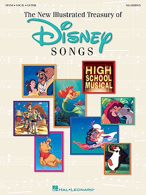 The New Illustrated Treasury of Disney Songs: Piano-Vocal-Guitar, Hal Leonard Corp. [Creator]