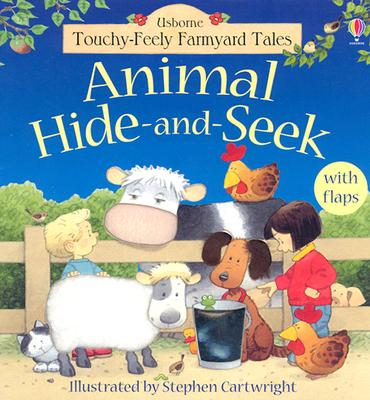 Animal Hide-And-Seek (Touchy Feely Flap Book), Jenny Tyler