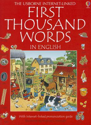 Image for First Thousand Words in English (Usborne Internet-Linked First Thousand Words)