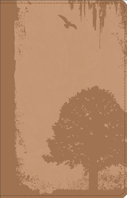 Image for GW God Guy Bible Vintage Brown, Grunge Tree Design Duravella