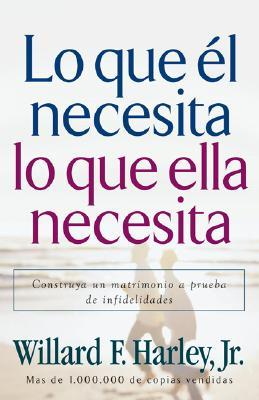 Image for Lo que él necesita, lo que ella necesita: Edifique un matrimonio a prueba de relaciones extramatrimoniales (Spanish Edition)