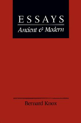 Image for Essays Ancient and Modern