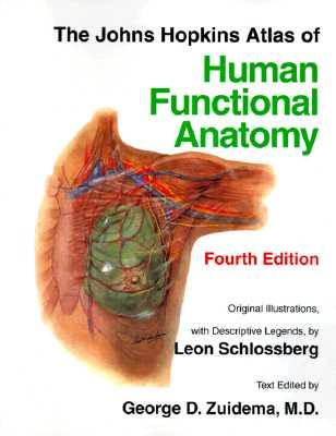 The Johns Hopkins Atlas of Human Functional Anatomy, Schlossberg, Leon; Zuidema, George D.
