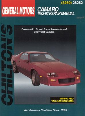 GM Camaro, 1982-92 (Chilton's Total Car Care Repair Manuals), Chilton