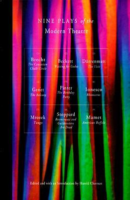 Nine Plays of the Modern Theater: Waiting for Godot; The Visit; Tango; The Caucasian Chalk Circle; The Balcony; Rhinoceros; American Buffalo, et al, Bertolt Brecht; Samuel Beckett; Friedrich Durrenmatt; Jean Genet; Harold Pinter; Eugene Ionesco; Slawomir Mrozek; Tom Stoppard; David Mamet
