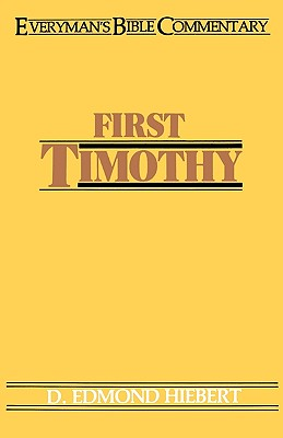 Image for First Timothy- Everyman's Bible Commentary (Everymans Bible Commentaries)