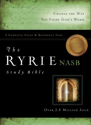 Image for The Ryrie NAS Study Bible Genuine Leather Black Red Letter (Believer's Life System Life Keeper)