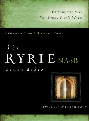 Image for The Ryrie NAS Study Bible Hardcover Red Letter Indexed (Ryrie Study Bibles 2012)