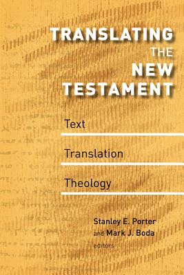 Image for Translating the New Testament: Text, Translation, Theology (McMaster New Testament Studies)