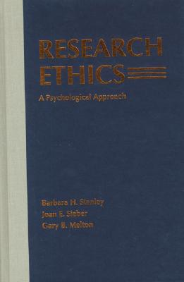 Image for Research Ethics: A Psychological Approach