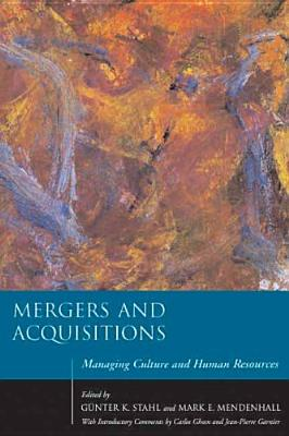 Image for Mergers and Acquisitions: Managing Culture and Human Resources (Stanford Business Books (Hardcover))