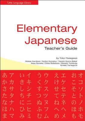 Elementary Japanese Teacher's Guide, Hasegawa, Yoko