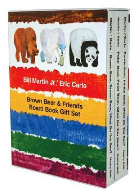 Brown Bear & Friends Board Book Gift Set, BILL MARTIN, ERIC CARLE