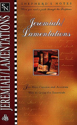 Image for Jeremiah/Lamentations (Shepherd's Notes)