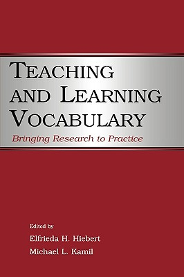 Image for Teaching and Learning Vocabulary