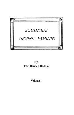 Image for Southside Virginia Families, Volume I