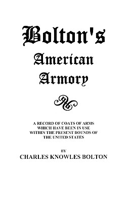Image for Bolton's American Armory
