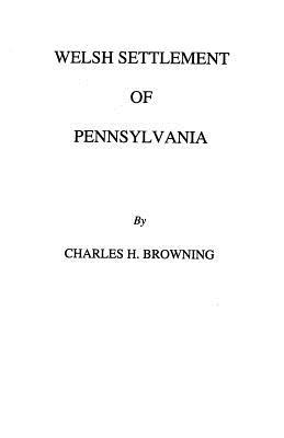 Image for Welsh Settlement of Pennsylvania