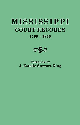 Image for Mississippi Court Records, 1799-1835
